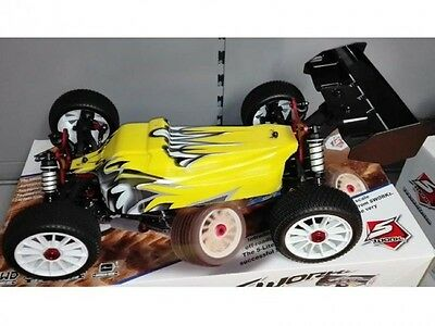 SWORKz S350 FOX8e 1/8 Offroad Buggy Brushless RTR Gelb - SW910016