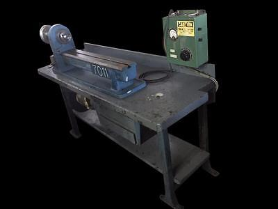 Pratt & Whitney M-1689 10 X 20 Bench Lathe Serial 449 Table Mounted