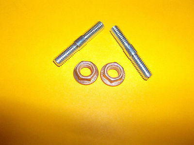Piaggio Fly 125 7Mm M7 Exhaust Studs And Nuts