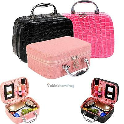 Travel Cosmetic Makeup Toiletry Case Wash Organizer Storage Pouch Hanging Bag #