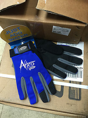 NEW AFTCO Bluefever Utility Fishing Fighting Gloves 2XL GLOVEUXXLBLUE