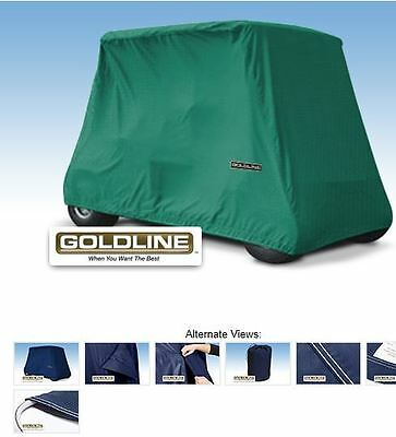 Goldline Premium 2 Person Passenger Golf Car Cart Storage Cover, Teal