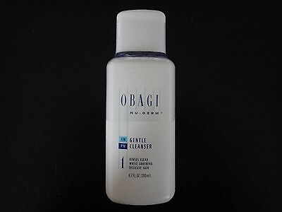 Obagi Nu-Derm Gentle Cleanser 6.7oz / 200ml, New & Sealed Free Same Day Shipping