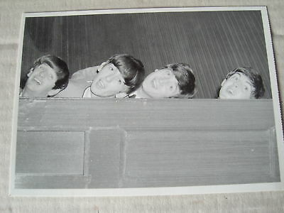 Post Card Featuring The Beatles