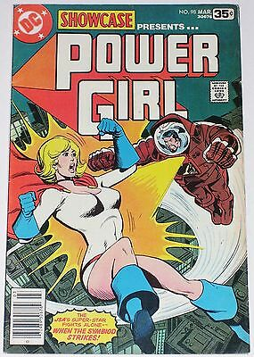 Showcase #98 F- to F+ from March 1978 2nd solo Power Girl