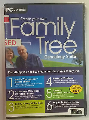 Create Your Own Family Tree - Genealogy Suite (PC CD-ROM) - UK IMPORT