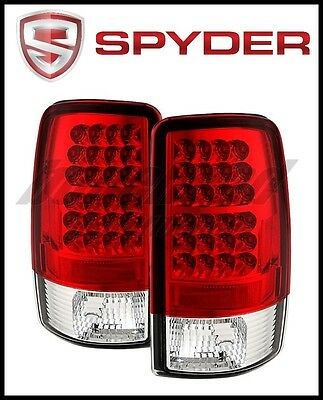 Spyder Chevy Suburban/Tahoe 1500/2500 00-06 LED Tail Lights Red Clear
