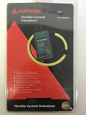 Amprobe ACF-3000AK Flexible Current Transducer BRNS
