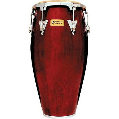LP Performer Series Conga with Chrome Hardware 11.75 in. Dark Wood LN