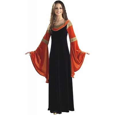 Arwen Costume Adult Lord of the Rings Deluxe Gown Halloween Fancy Dress