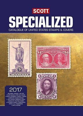2017 Scott Specialized Catalogue Of United States Stamps & Covers Free Shipping
