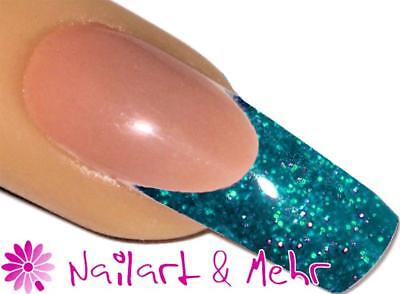 """#23 FLITTER-ACRYL-Pulver 3,5g """"TURQUOISE"""""""