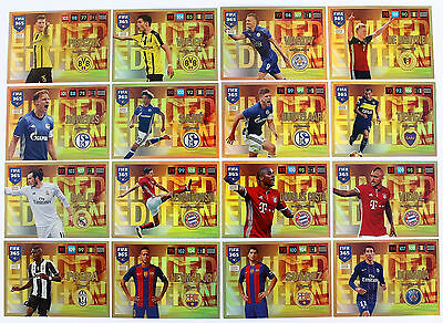 Panini Adrenalyn FIFA 365 2017 - Auswahl Karten limited Edition