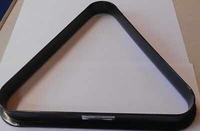 Peradon Triangle Black Plastic Snooker Pool Tables Cues ALL SIZES NEW