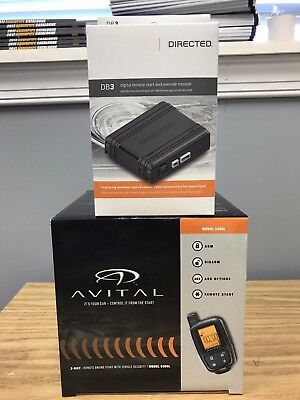 Avital 5305L 2-Way Remote Start & Car Alarm + DB3 Bypass - Bundle - 2 items !