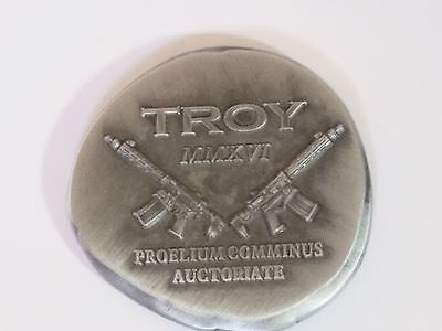 Troy Defense Firearms Military Challenge Coin 2016 NEW