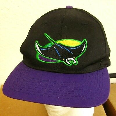 huge discount fae82 3bc5a TAMPA BAY DEVIL RAYS baseball cap MLB embroidery hat 1998-2000 snapback OG