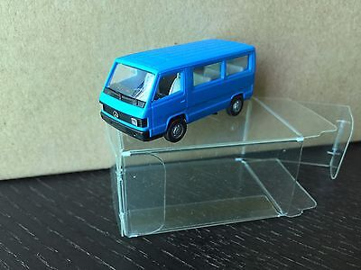 Herpa Mercedes-Benz MB100 D blue HO 1/87 model car 1981-1996
