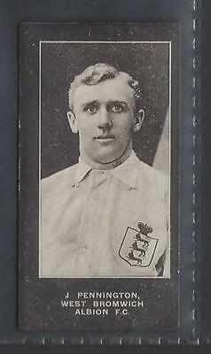 Smith - Footballers (Blue Back, No Series Title) - #49 J Pennington, West Brom
