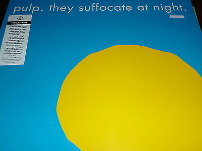 "PULP They suffocate at night 12"" Vinyl Single RSD 2015 NEW & SEALED"