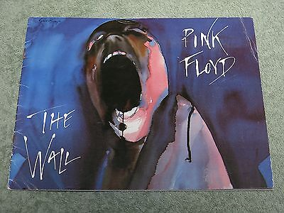PINK FLOYD The wall TOUR PROGRAMME!