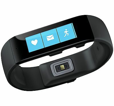 Microsoft Band Large Fitness Activity Tracker- Black-From the Argos Shop on ebay