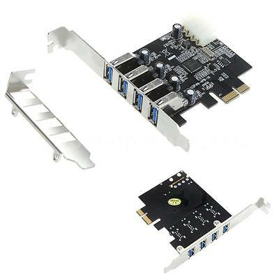 USB3.0 PCI Express Controller Card Adapter IDE Power Connector Low Profile L4Z5
