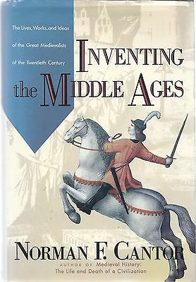 Medieval History . Inventing the Middle Ages . Norman F. Cantor . HC+DJ 9