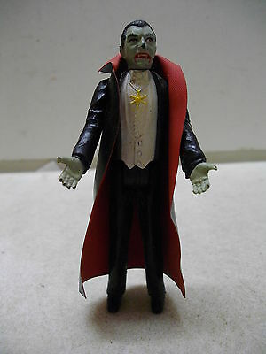 Vintage 1980 Remco Universal Monsters Dracula Figure With Cape