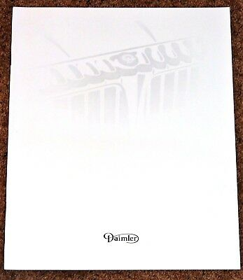1994 DAIMLER XJ40 Sales Brochure - Mint Brand New Old Stock! - Double-Six & Sov