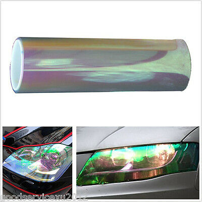 200x30cm DIY Chameleon Colorful Clear Autos Off-Road Headlights Vinyl Tint Film