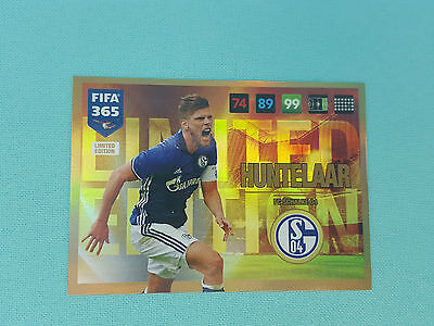 Panini Adrenalyn XL FIFA 365 2017 Huntelaar Limited Edition Trading Card