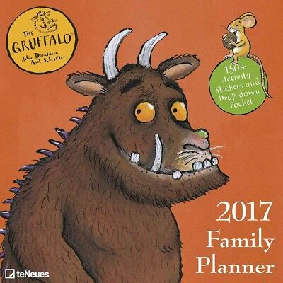The Gruffalo Official Family Planner 2017 (Julia Donaldson) New and Sealed