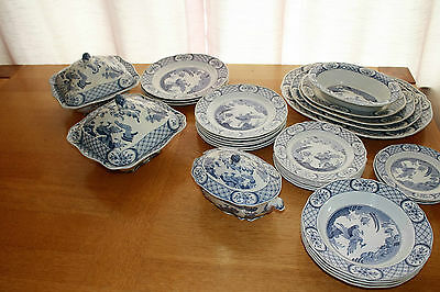 furnivals old chelsea dinner service collection
