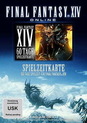 Final Fantasy XIV - A Realm Reborn 60 Tage PC Gamecard Pre-Paid Card Code FF14