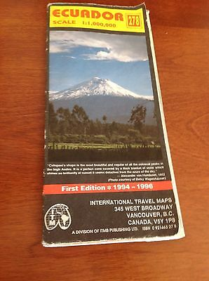 Ecuador by International Travel Maps first Edition 1994-1996