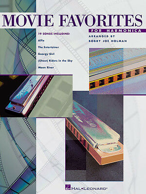 Movie Favorites Harmonica Sheet Music Harp Tab 19 Songs Hal Leonard Book NEW