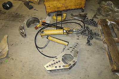 "ENERPAC 1"" TO 4"" Hydraulic ONE SHOT Conduit Pipe Bender"