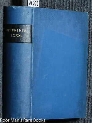 6 Egyptian Offprints In Bound Volume Earlier 20th Century c1920 illustrated
