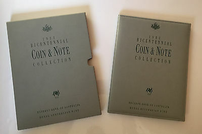 Australian Bicentennial Proof Coin & Note Deluxe Collection - Free Postage
