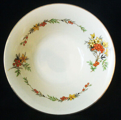 3 pieces of Maddock England Ascot Soup Bowls and salad plate