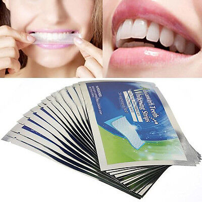 28 Strips DIY Teeth Whitening Home Making Tooth More Brighter Tool Effective
