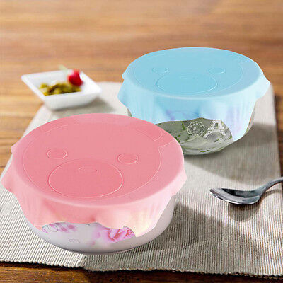 Reusable Multi Functional Food Grade Silicone Plastic Wrap Cover Hot Selling