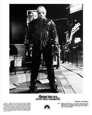 FRIDAY THE 13th PART 8: JASON TAKES MANHATTAN still with JASON -- (L829)