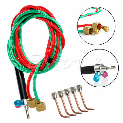 Hot Sale Jewelers Micro Mini Gas Little Torch Welding Soldering Kit & 5 Tips NEW