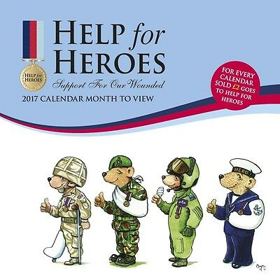 Help for Heroes Official Wall Calendar 2017