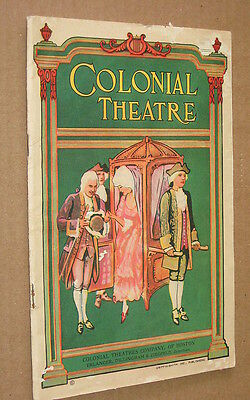 BILLIE 1929 Colonial Theatre Playbill Booklet, Boston - Polly Walker, GM Cohan