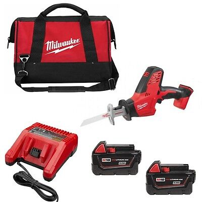 Milwaukee 18v Hacksaw Hackzall Reciprocating Saw C18HZ with x2 3.0ah Batterys