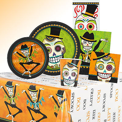 Day Of The Dead - HALLOWEEN PARTY RANGE (Tableware/ Decorations) Skulls/Theme