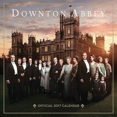 Downton Abbey Official Wall Calendar 2017